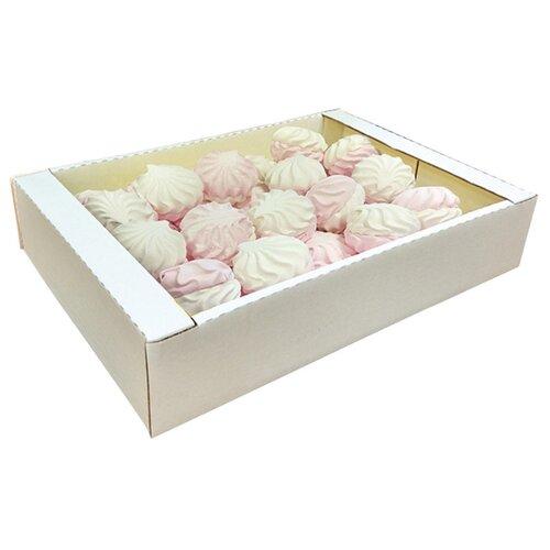 Зефир Семейка ОЗБИ бело-розовый, 2000 г зефир и пастила corniche маршмеллоу большие mega marshmallow бело розовые 300 г