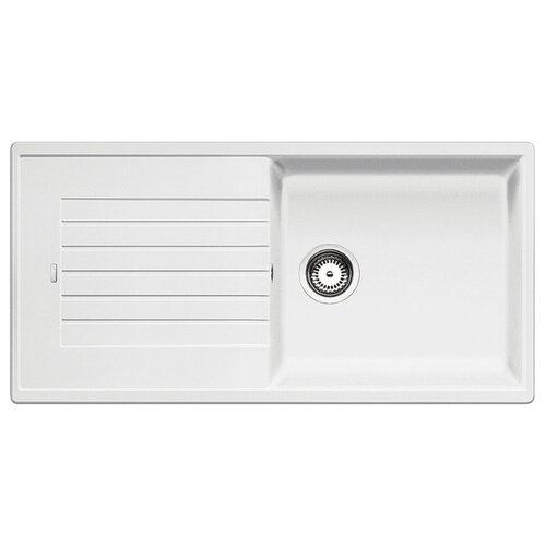 Фото - Врезная кухонная мойка 100 см Blanco Zia XL 6S белый врезная кухонная мойка 100 см blanco zia xl 6s жасмин