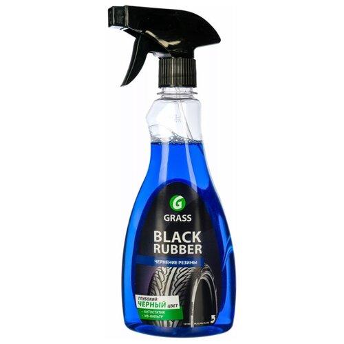 Очиститель-полироль шин GraSS Black rubber 121105, 500 мл 1 шт.