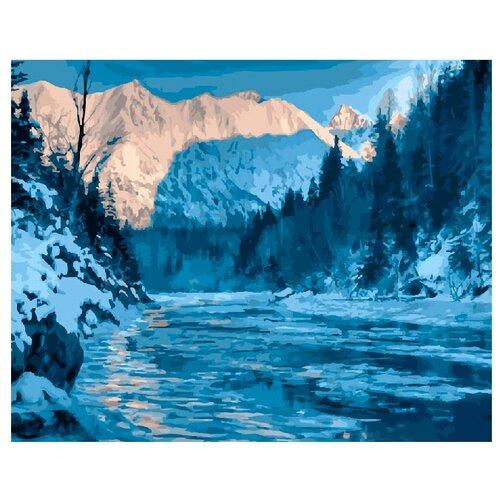 Купить ВанГогВоМне Картина по номерам Аляска зимой , 40х50 (ZX 21316), Картины по номерам и контурам