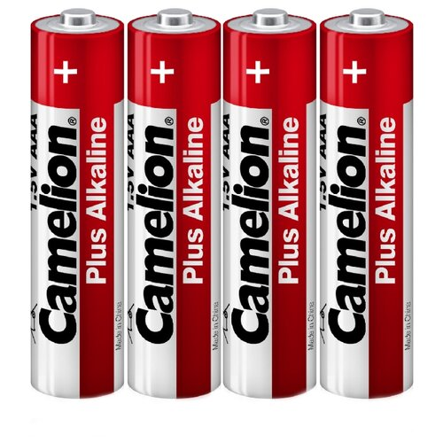 цена на Батарейка Camelion Plus Alkaline AAA 4 шт пленка