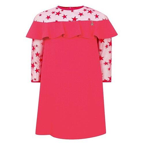 Платье Elisabetta Franchi размер 140, розовый платье elisabetta franchi elisabetta franchi el037ewbqar8