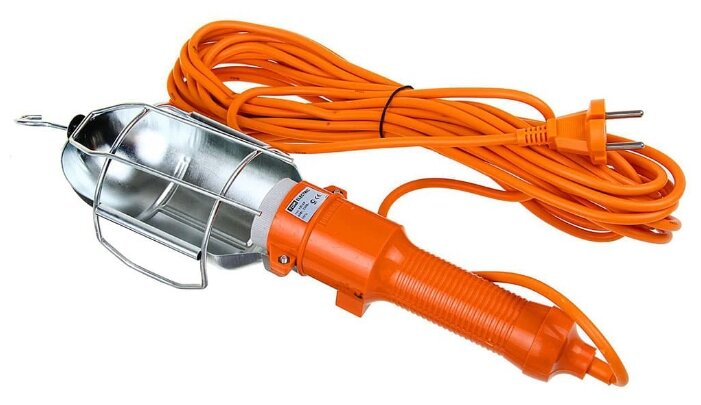 Переносной светильник TDM ЕLECTRIC УП-2Р, 60 Вт, шнур 15 м