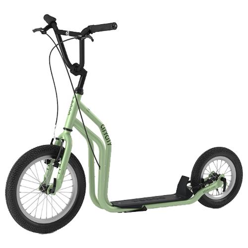 цена на Внедорожный самокат Yedoo City RunRun зеленый