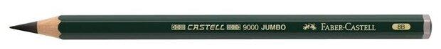 Faber-Castell Карандаш чернографитный Castell 9000 Jumbo 8В
