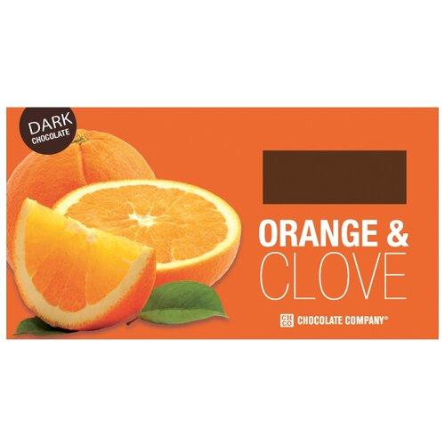 Шоколад CHCO Два вкуса Апельсин и гвоздика, горький 63%, 100 г