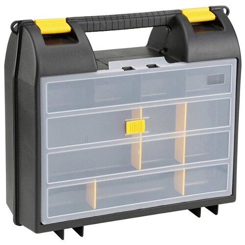 Ящик с органайзером STANLEY 1-92-734 35.9x32.5x13.6 см черный ящик с органайзером stanley jumbo 1 92 906 27 6x48 6x23 2 см черный желтый
