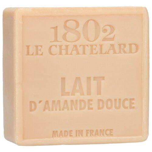 Мыло кусковое Le Chatelard 1802 Масло сладкого миндаля, 100 г по цене 585