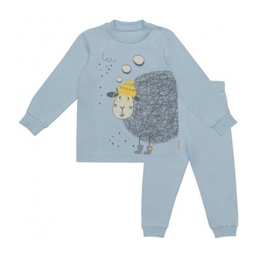 Пижама Kogankids размер 86, светло-голубой kogankids боди для мальчика kogankids светло голубой 74