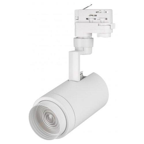 Трековый светильник-спот Arlight LGD-ZEUS-4TR-R88-20W Warm (WH, 20-60 deg) трековый светильник спот arlight lgd zeus 4tr r88 20w day bk 20 60 deg