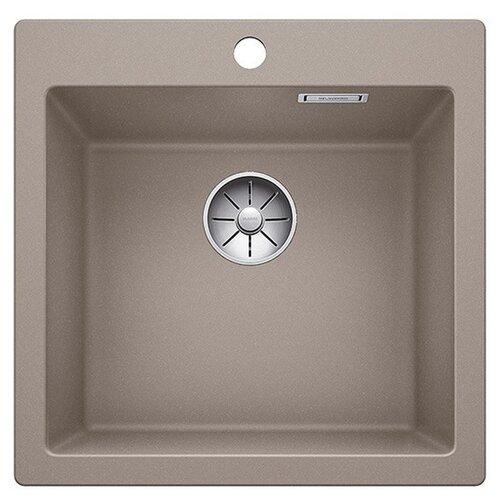 Врезная кухонная мойка 51.5 см Blanco Pleon 5 серый беж кухонная мойка blanco pleon 6 split infino серый беж 521696
