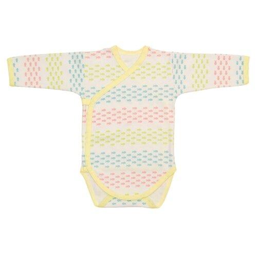Купить Боди Чудесные одежки размер 74, розовый/голубой/желтый