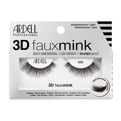 Ardell Ресницы 3D Faux Mink 859 черный