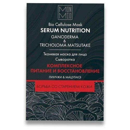 MonMio Маска для лица, Линчжи и мацутакэ комплексное питание и восстановление