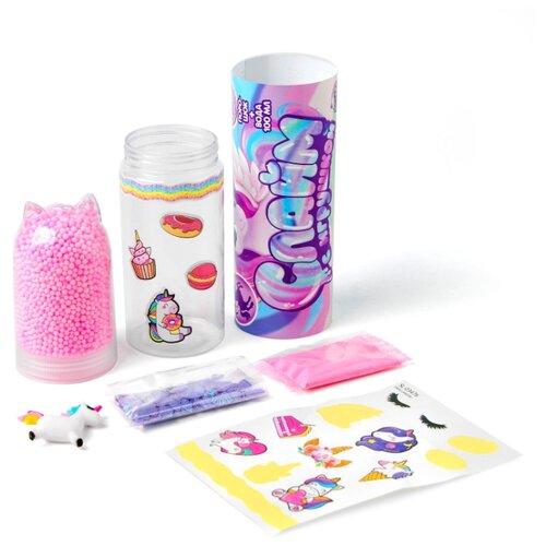 Купить ШКОЛА ТАЛАНТОВ Набор для творчества Слайм с игрушкой Единорожка 4695641, Школа талантов, Изготовление свечей