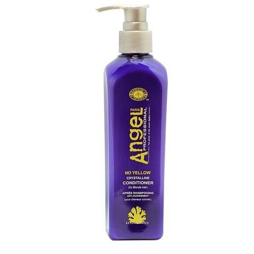 Angel Professional кондиционер No yellow Crystalline для нейтрализации желтизны волос, 250 мл