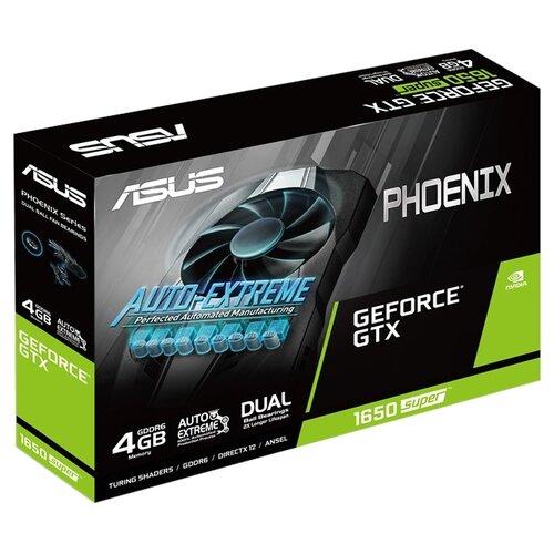 цена на Видеокарта ASUS Phoenix GeForce GTX 1650 SUPER 1530MHz PCI-E 3.0 4096MB 12002MHz 128 bit DVI HDMI DisplayPort HDCP Retail