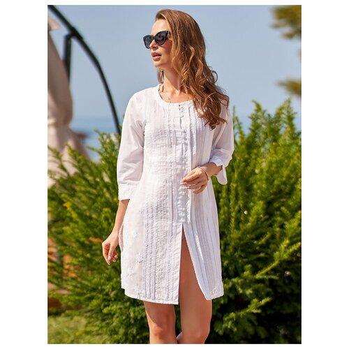 Пляжная туника MIA-AMORE Argentina размер S белый пляжное платье mia amore argentina размер xs белый