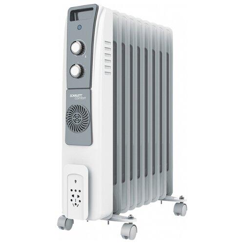 Масляный радиатор Scarlett SC 51.2409 S5 белый scarlett sc 41 1507