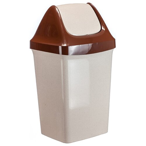 Ведро IDEA (М-Пластика) Свинг М 2464, 50 л бежевый