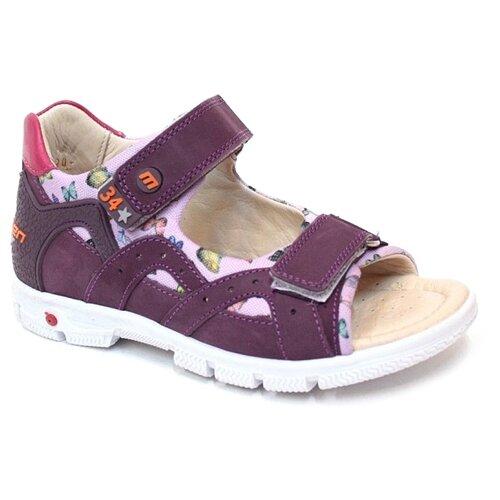 Сандалии MINIMEN размер 34, фиолетовый