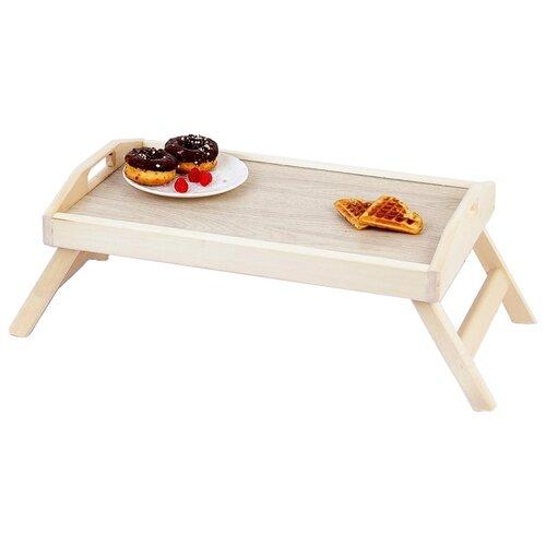 Поднос-столик Добропаровъ 4010503 бежевый