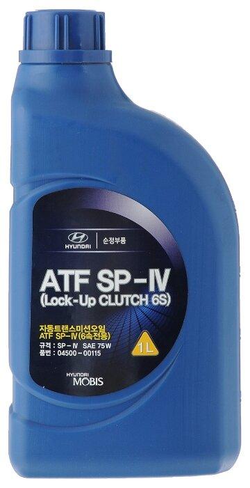 Трансмиссионное масло Hyundai-KIA ATF SP-IV 1л (04500-00115)