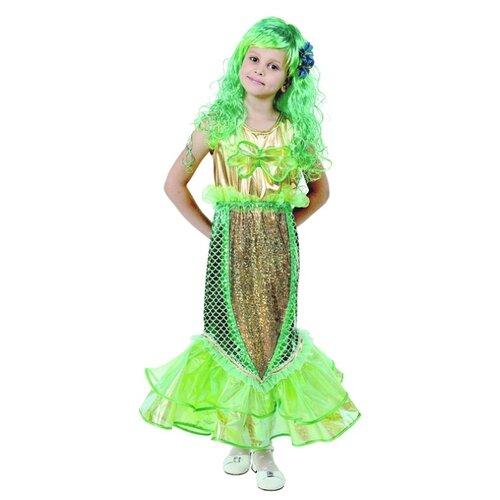 Костюм Батик Русалочка (457), зеленый, размер 128-64, Карнавальные костюмы  - купить со скидкой