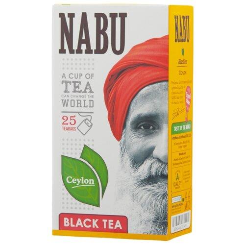 Чай черный Nabu Ceylon в пакетиках, 25 шт.