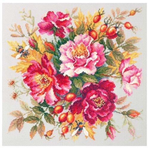 Купить Набор Магия цветов. Шиповник 30х30 Чудесная игла 140-002, Чудесная Игла, Наборы для вышивания