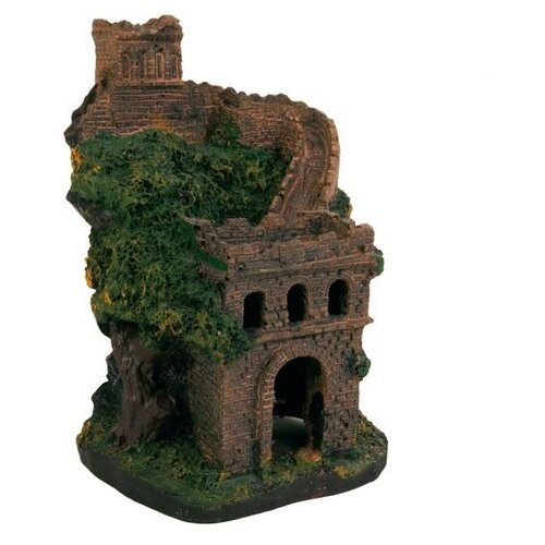 Грот TRIXIE Сторожевая башня высота 15 см зеленый/коричневый