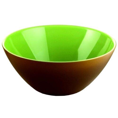 capacity for storing guzzini my kitchen cover green Guzzini Салатник My Fusion 20 см зеленый/коричневый