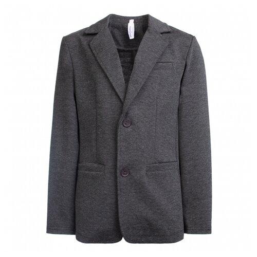Пиджак playToday размер 152, темно-серый