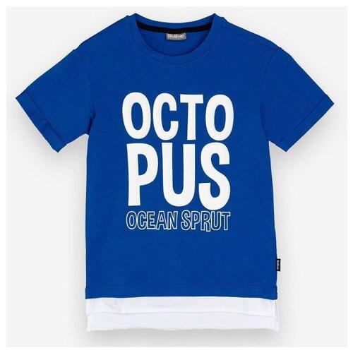 Футболка Gulliver размер 98, синий футболка gulliver размер 98 синий