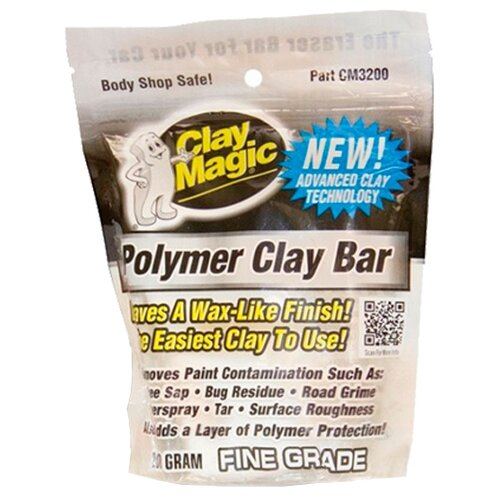 Неабразивная глина Auto Magic Clay Magic Polimer, 0.2 кг magic binds