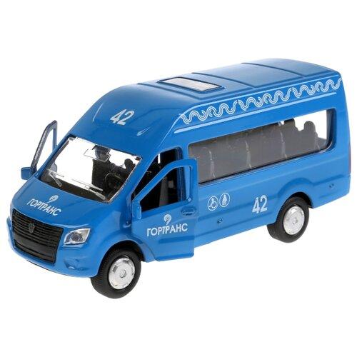 Купить Микроавтобус ТЕХНОПАРК ГАЗель NEXT Гортранс (SB-18-19-B-WB) 12 см синий, Машинки и техника