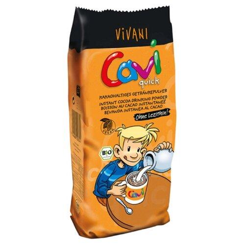 Vivani Cavi Какао-порошок быстрорастворимый, пакет, 400 г