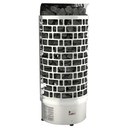 Фото - Электрическая банная печь Sawo Aries ARI3-45Ni2-WL-P серебристый серия taurus электрическая печь sawo taurus tau 180ns g p 18 квт выносной пульт