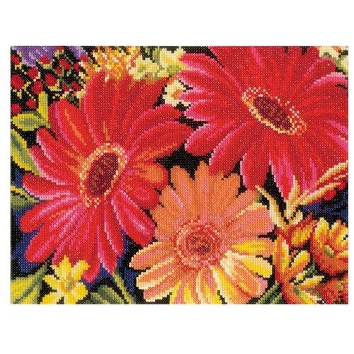 Фото - Lanarte Набор для вышивания Очаровательные герберы 25 x 19 см (0162300-PN) lanarte набор для вышивания индианка 39 x 49 см 0008160 pn