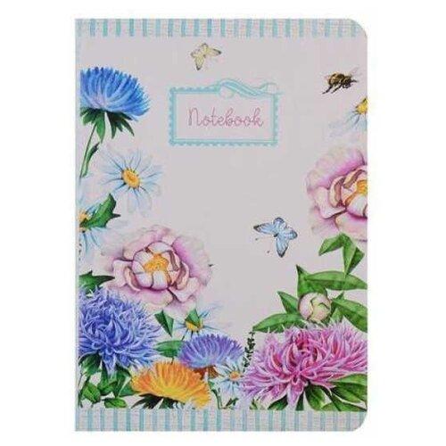 Купить Блокнот Канц-Эксмо Aquarelle. Цветы А6+, 80 листов (КЗАК6802926), Блокноты