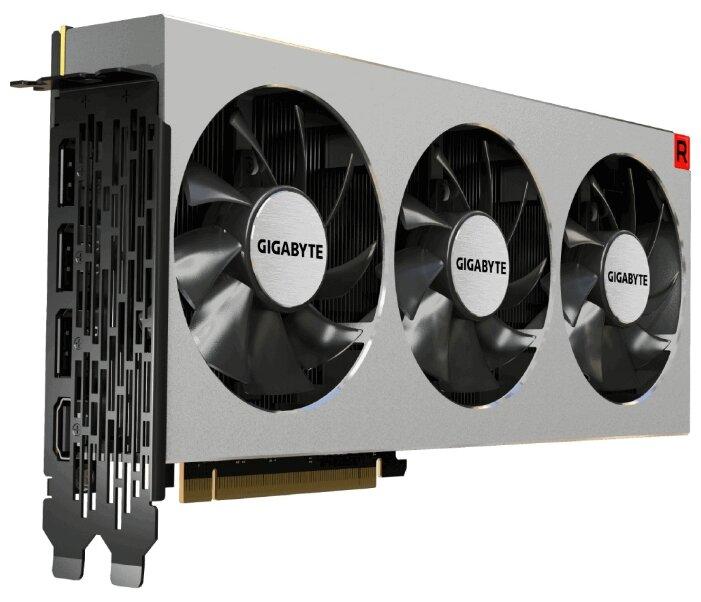 Видеокарта GIGABYTE Radeon VII 1400Mhz PCI-E 3.0 16Gb 1000Mhz 4096 bit 3xDisplayPort HDMI HDCP (GV-RVEGA20-16GD-B)