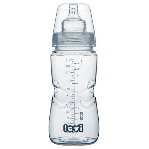 Купить Lovi Бутылочка Medical+ 330 мл, с 9 месяцев, бесцветный, Бутылочки и ниблеры