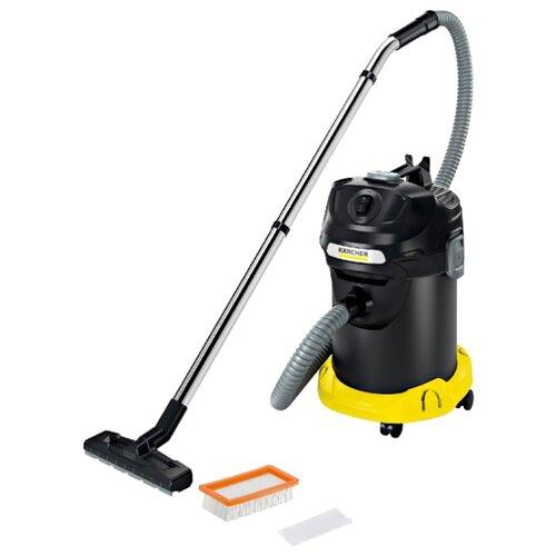 Пылесос KARCHER AD 4 Premium черный/желтый пылесос моющий karcher se4001 1400вт желтый черный