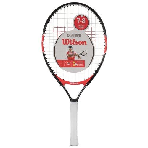 Ракетка для большого теннисаWilson Roger Federer 23 23'' 0000 черный/красный