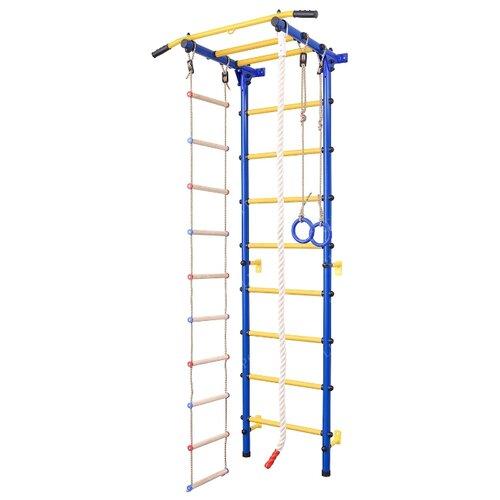 Купить Шведская стенка SportLim DS-12S синий, Игровые и спортивные комплексы и горки