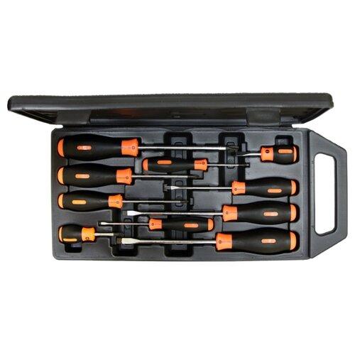 Набор отверток ШТОК (10 предм.) 09904 черный/оранжевый