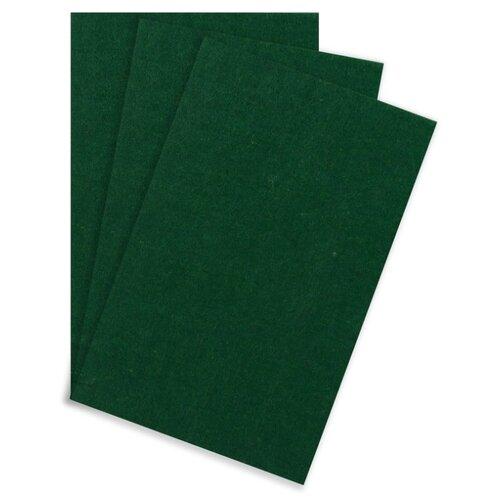 Купить Арт Узор Фетр жесткий набор 3 листа формат А4 толщина 5 мм зеленый мох, Валяние
