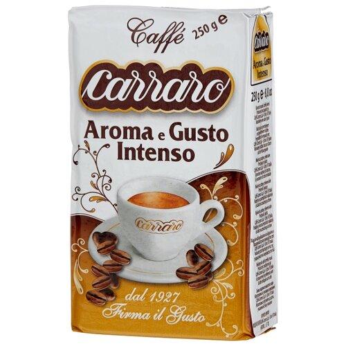 Фото - Кофе молотый Carraro Aroma&Gusto, 250 г кофе молотый carraro india 250 г