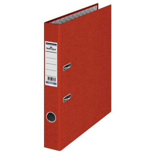 DURABLE Папка-регистратор A4, бумвинил, 50 мм красный, Файлы и папки  - купить со скидкой