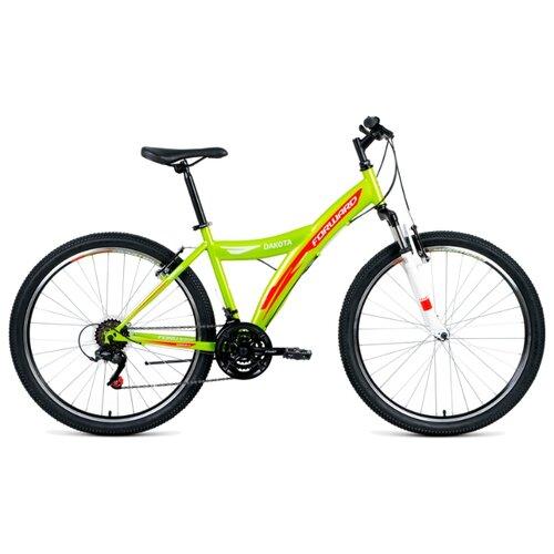 цена на Горный (MTB) велосипед FORWARD Dakota 26 2.0 (2019) зеленый/красный 16.5 (требует финальной сборки)